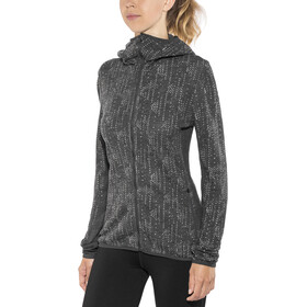 Icebreaker Away Showers - Chaqueta Mujer - gris